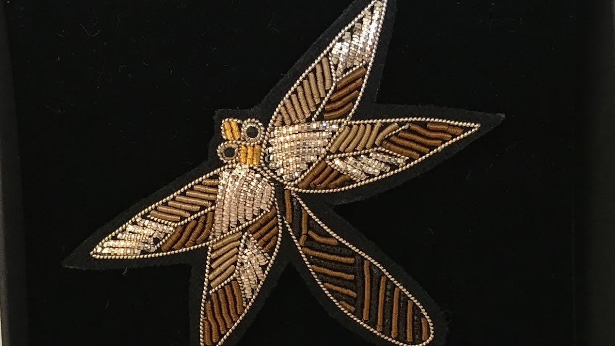 Broche Macon&Lesquoy Libellule chez Bee art&design à Saint-Malo
