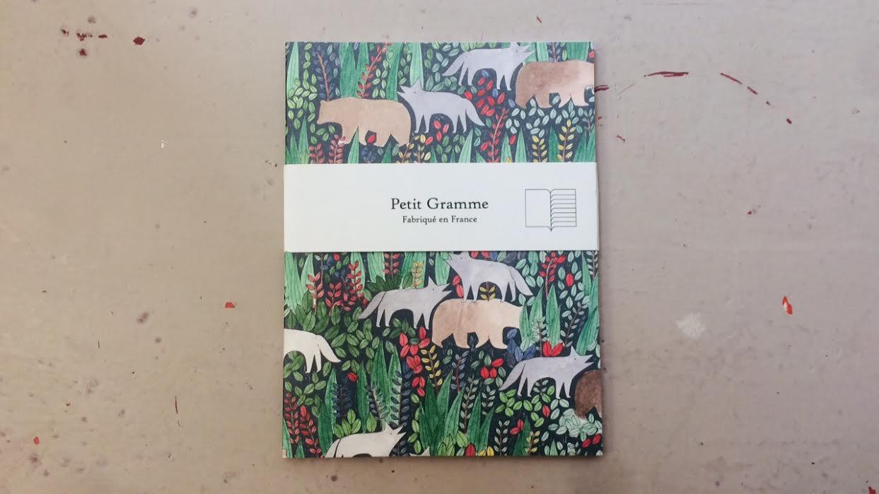 Carnet de poche PETIT GRAMME Toundra chez Bee art&design