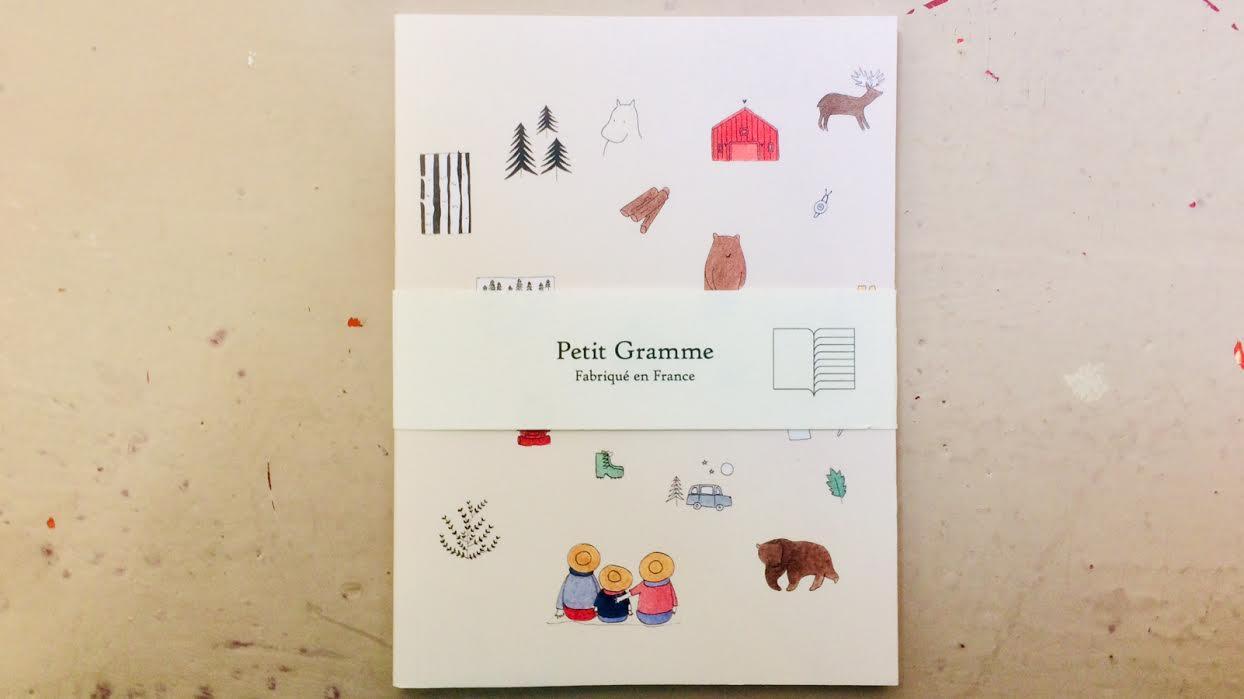Carnet de poche PETIT GRAMME petite histoire chez Bee art&design