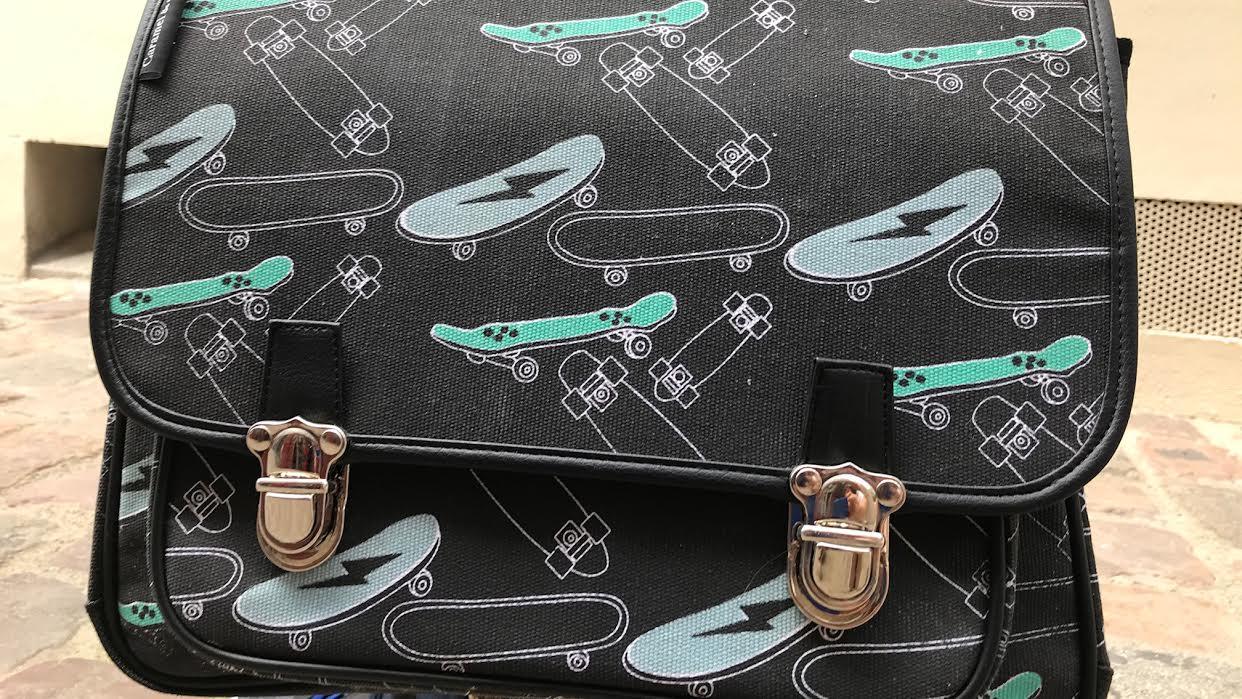 Cartable Caramel&cie Skate Chez Bee art&design Saint-Malo