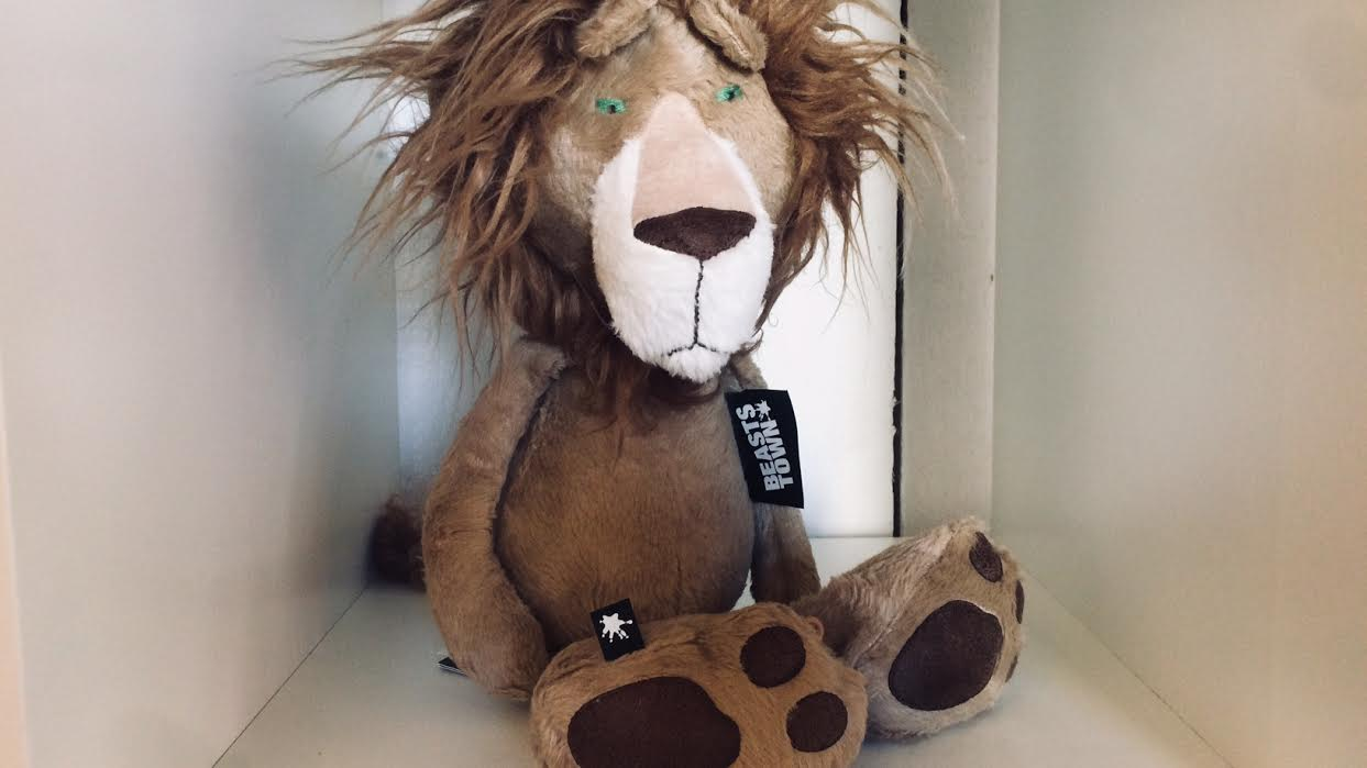 Peluche Sigikid lion chez Bee art&design à Saint-Malo