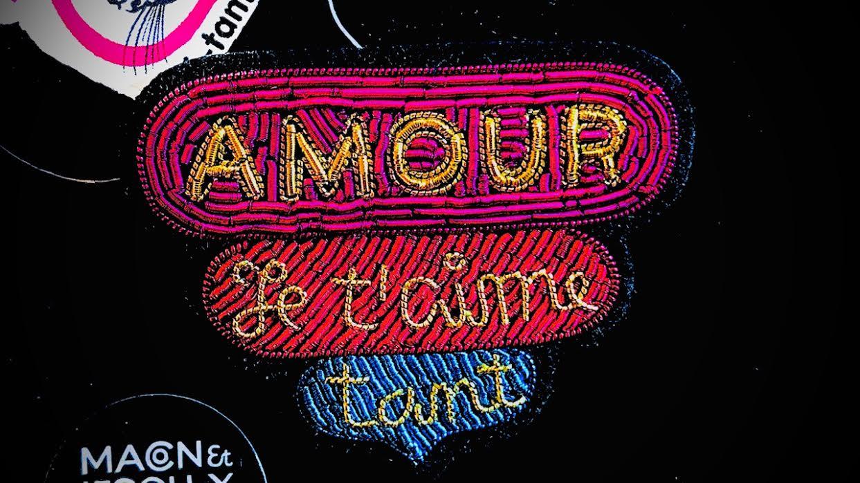 Broche Macon&Lesquoy Peau d'Ane Amour chez Bee art&design