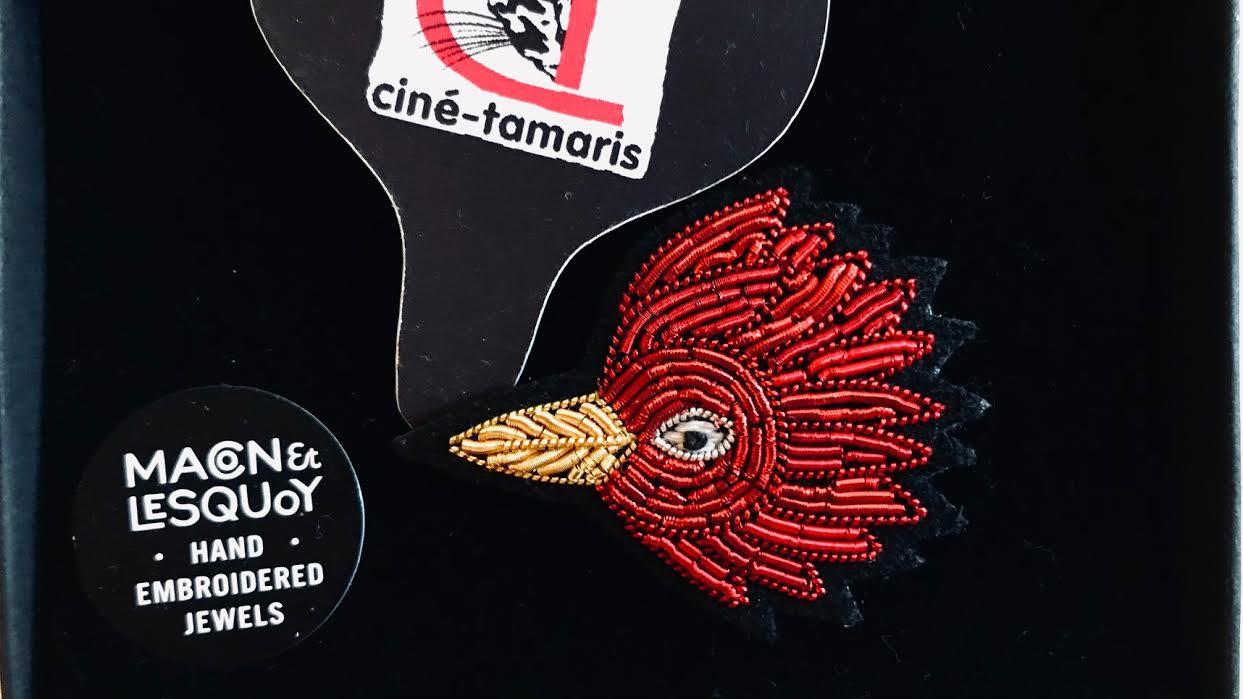 Broche Macon&Lesquoy Peau d'Ane l'oiseau chez Bee art&design