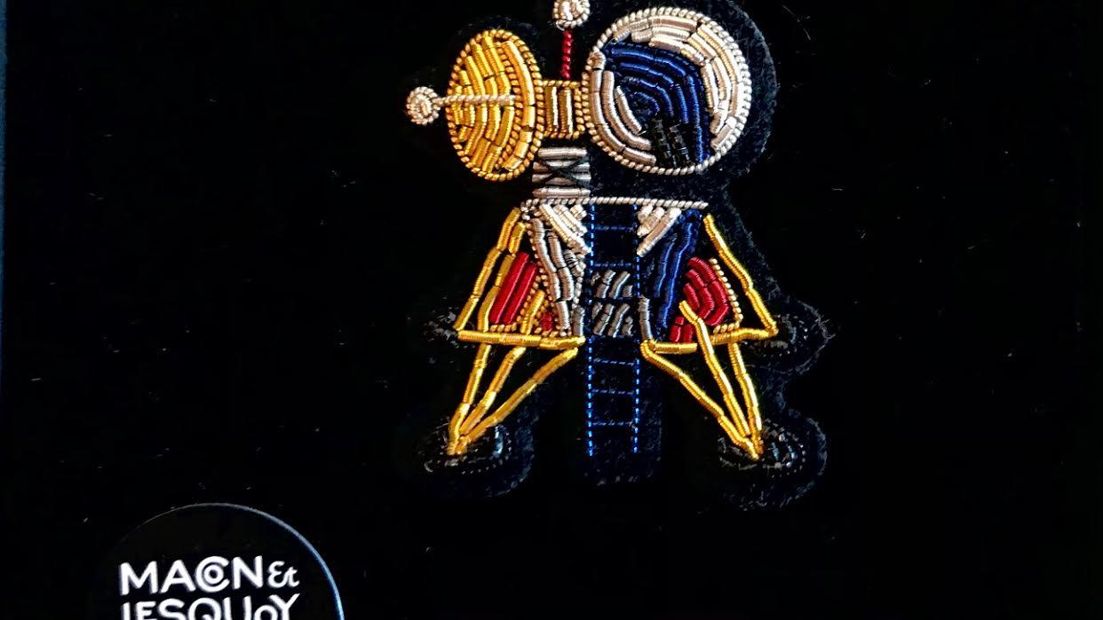 Broche Macon&Lesquoy capsule lunaire chez Bee art&design