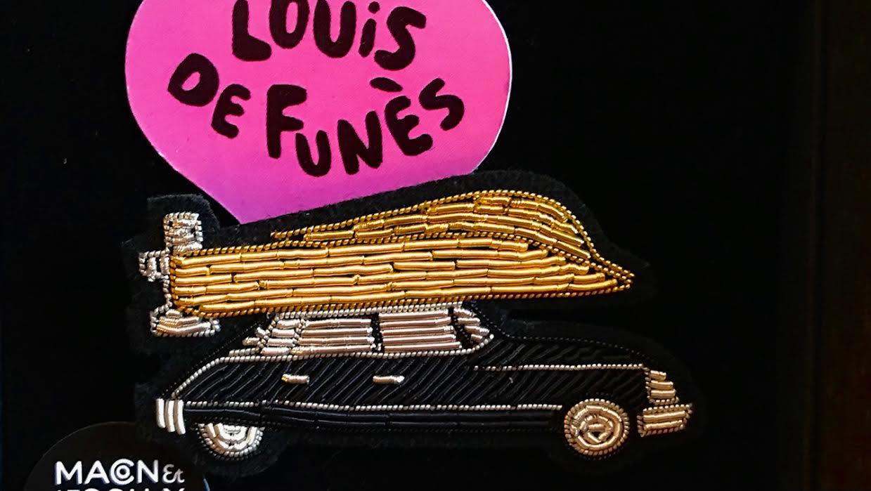 Broche Macon&Lesquoy collection Louis de Funès DS chez Bee art&design