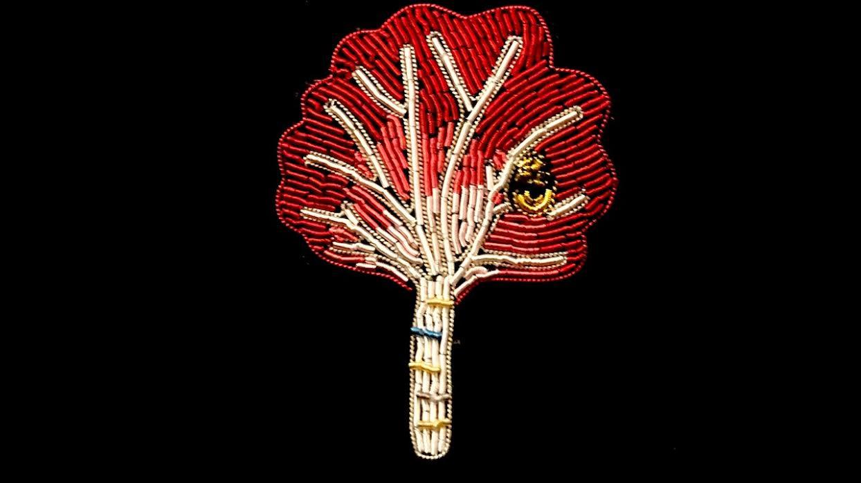 Broche Macon&Lesquoy érable chez Bee art&design