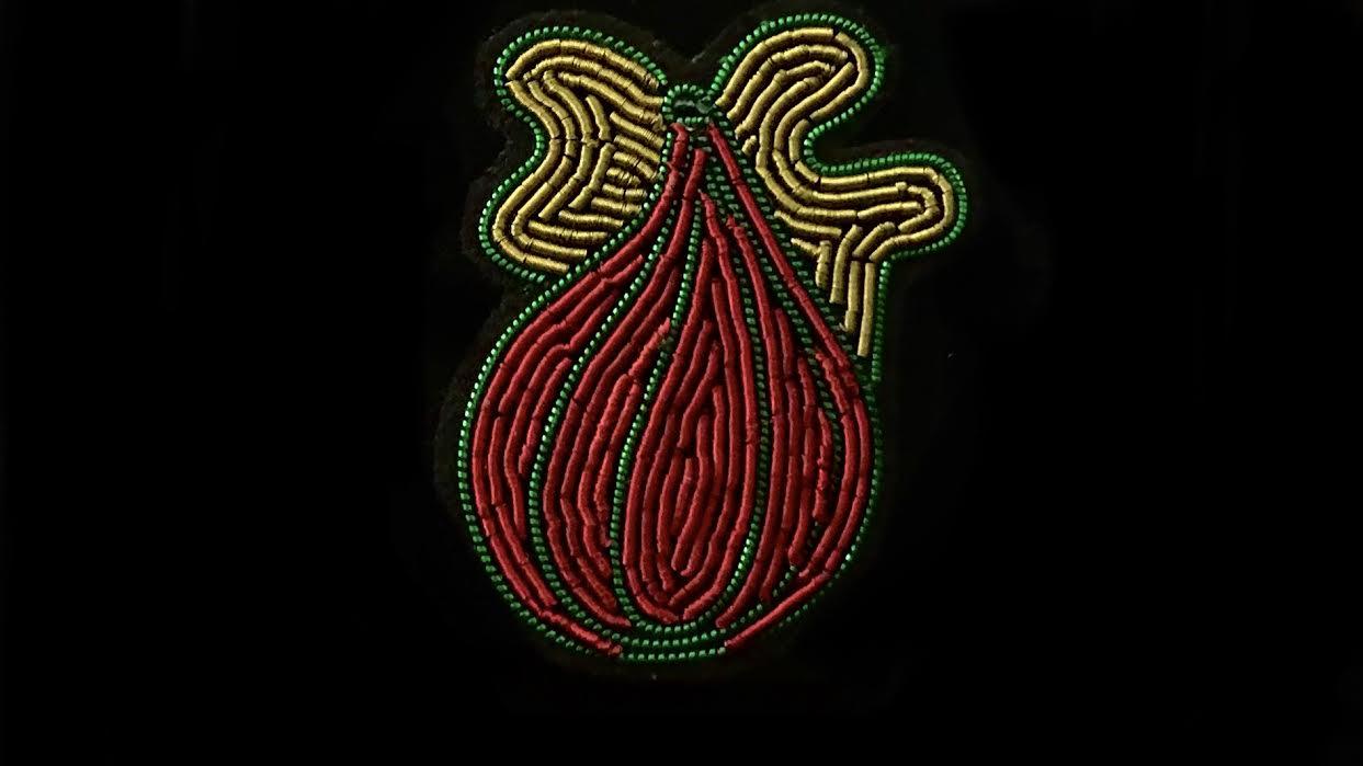 Broche Macon&Lesquoy figue chez Bee art&design