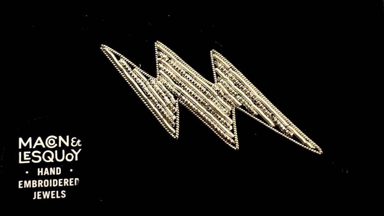 Broche Macon&Lesquoy petit eclair chez Bee art&design
