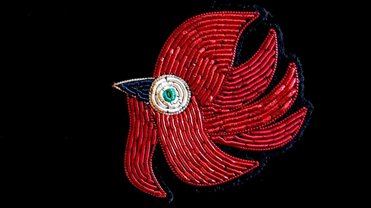 Broche Macon&Lesquoy têt de phoenix chez Bee art&design
