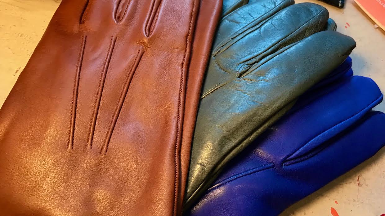 Gant homme Acaba Soie ou cashmere gris chez Bee art&design