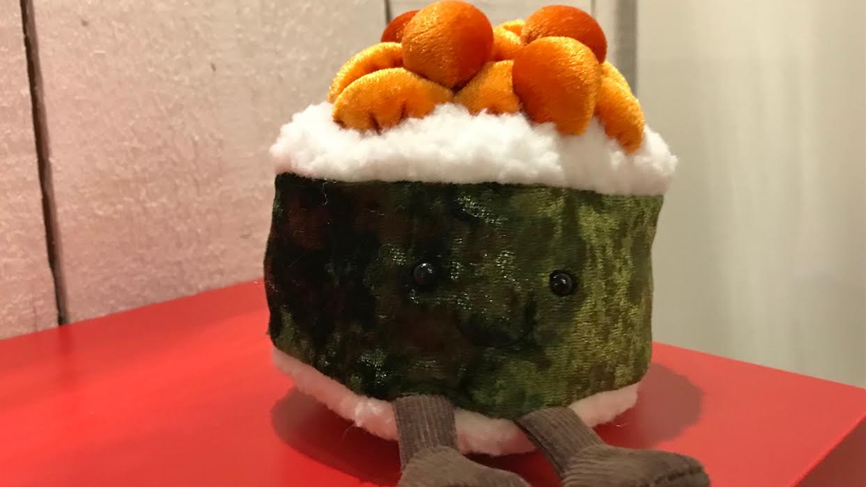 Jellycat sushi maki chez Bee art&design