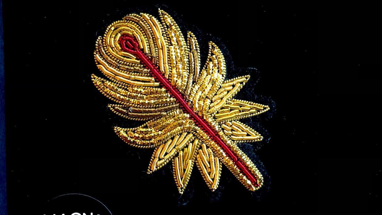 Macon&lesquoy plume de phoenix chez Bee art&design