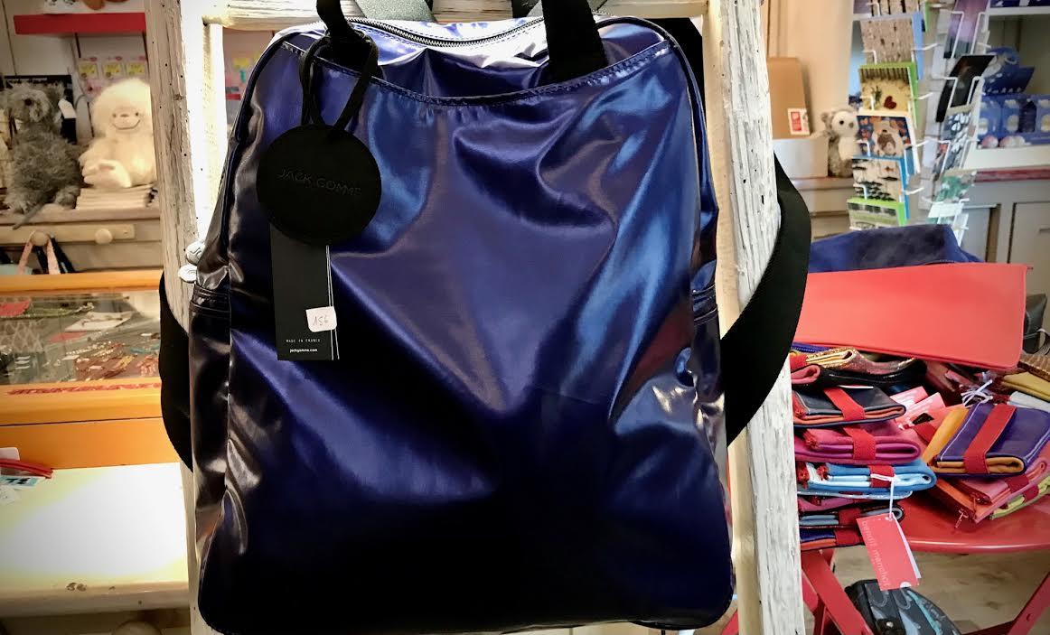 sac à dos Jack Gomme light lamy ocean chez Bee art&design à Saint-Malo