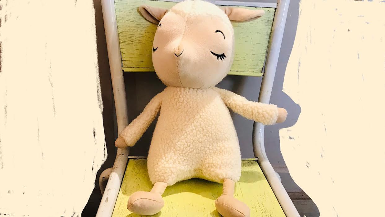 Peluche Jellycat sleepee lamb chez Bee art&design Saint-Malo